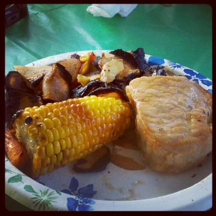 It's Easier Than You Might Think: Pork Chop Hobo Dinners