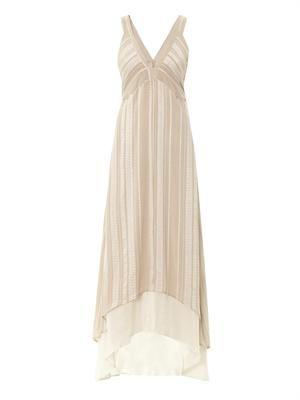 Zeus + Dione Medea panelled silk dress