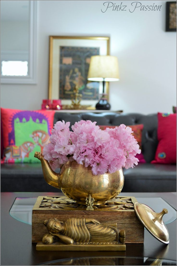 Indian Inspired Decorating