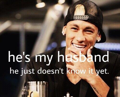 Totally! I love you Neymar❤️ ~ Megan