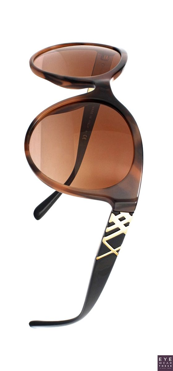 7d13610c911 Burberry 4236 soft cat-eye sunglasses with the iconic check pattern in gold  metal on the temples
