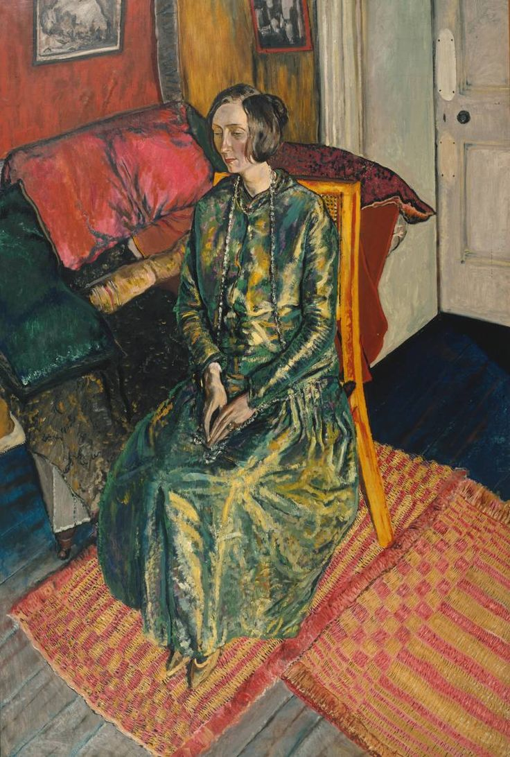 Artist  Alvaro Guevara (1894‑1951)  Title  Dame Edith Sitwell  Date exhibited 1919  MediumOil paint on canvas  Dimensionsframe: 1962 x 1360 x 80 mm support: 1829 x 1219 mm  Collection  Tate