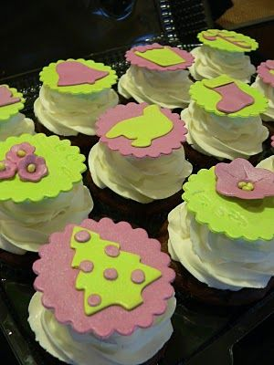 Biddy Bear Cupcakes: Christmas