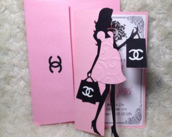 Chanel Baby Shower Invitation