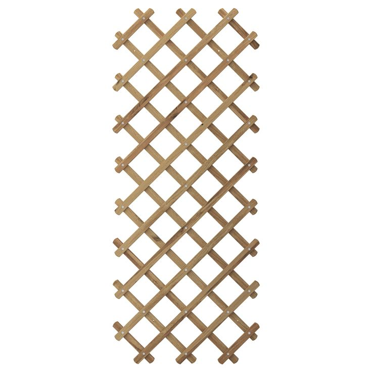 ASKHOLMEN Trellis - IKEA.  Saw this in person...very striking.  Use as inside wall art somehow....