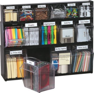 Best Office Supply Organization Ideas On Pinterest Office