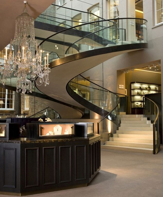 1000 ideas about modern staircase on pinterest modern for Mudroom a forma di l