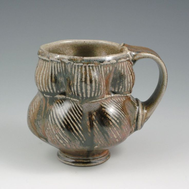 Eric botbyl pottery cups mugs yunomi tumbler iv for Clay mug ideas