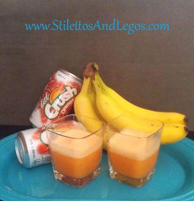 Orange Dream Slushy Zero-Calorie Recipe