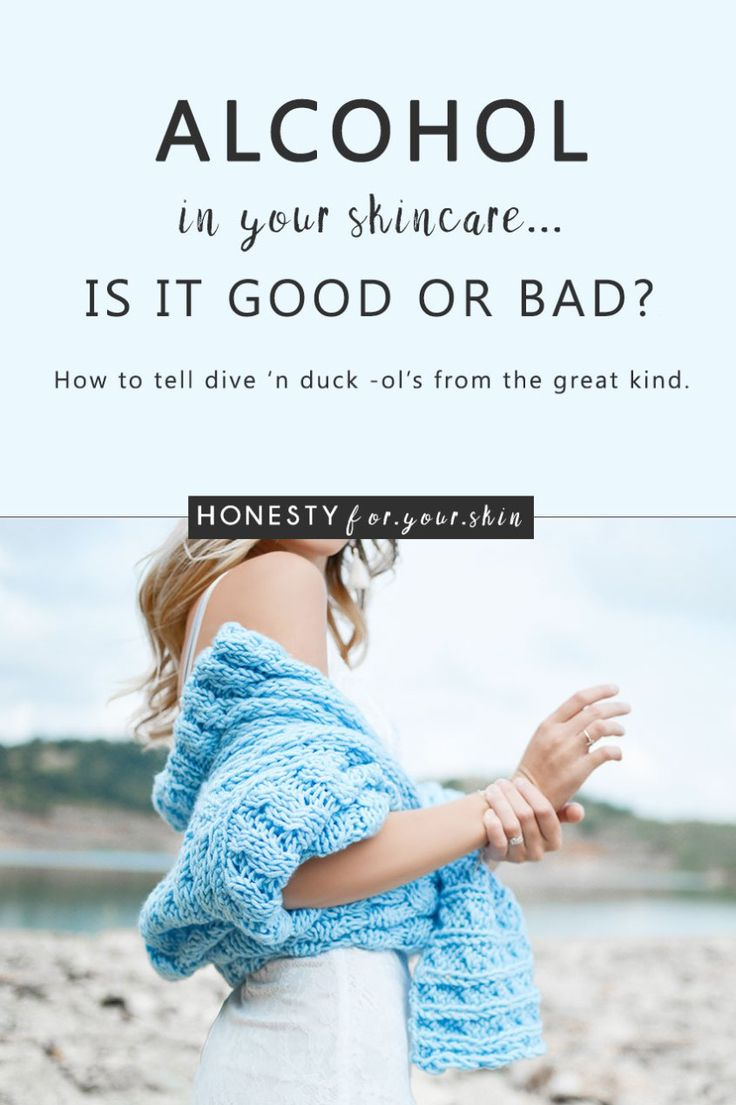 Alcohol in skincare - it's not where you'd expect to find it 'eh. Usually it's down the club with 50 cent, in your posh cocktail, the one that took 5 minutes longer to make than it's going to take you to drink. It's in your drinks, your food... and who'd have thought, even in your skincare. hmmm... alcohol in your skincare. Should it be there? Is it a filler? How does alcohol affect your skin? Will it leave your skin dry, dehydrated? Very great questions my friend. The real-deal is this…