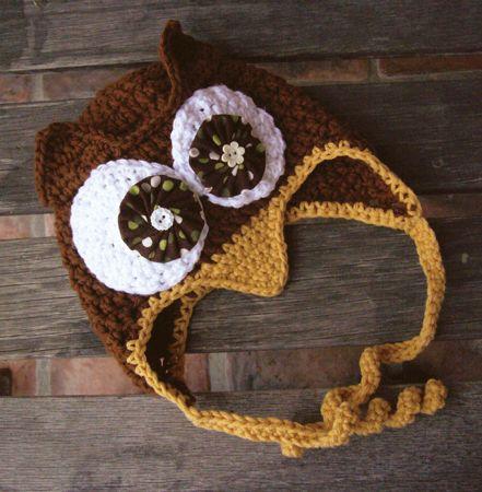 Cute knit hat