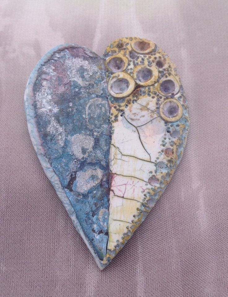 By Debby Wakley Faux techniques, alcohol inks, textures and a little love. All from polymer clay