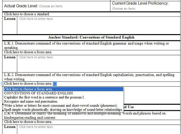 Common Core Lesson Plan Template These Cds Provide Easy To Use And