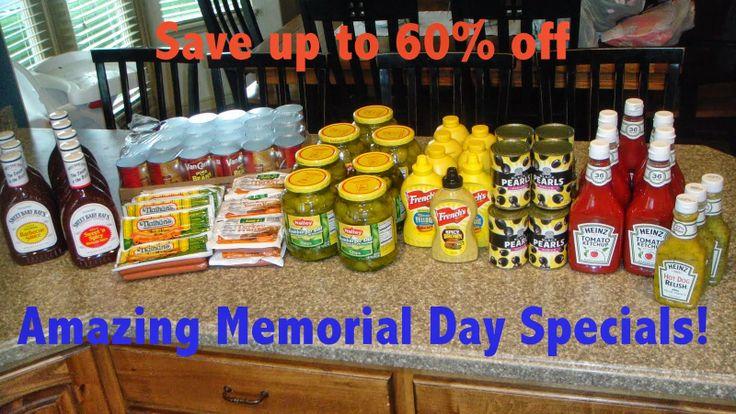 memorial day food deals 2015