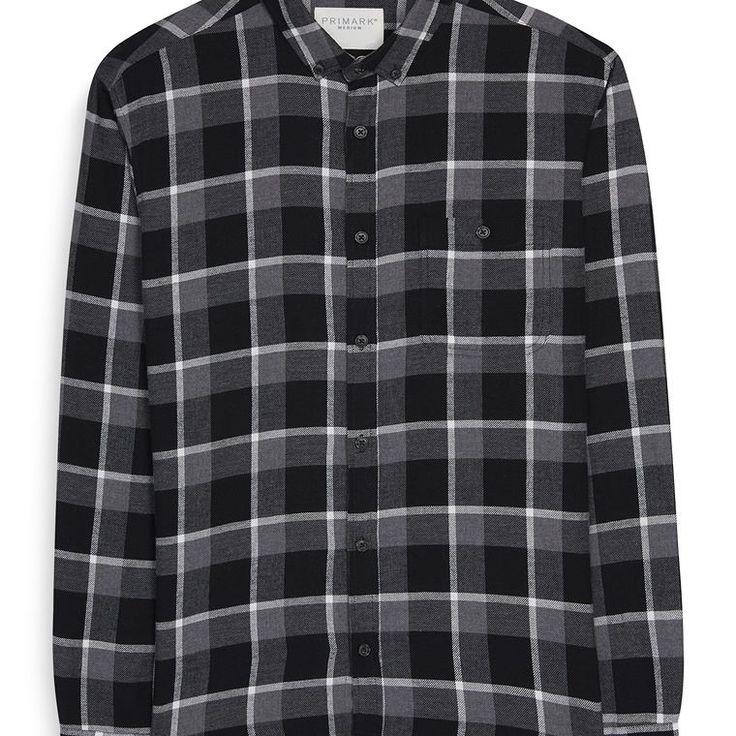 Camisa a cuadros monocromática  Categoría:#camisas_hombre #informales #primark_hombre #ropa_de_hombre en #PRIMARK #PRIMANIA #primarkespaña  Más detalles en: http://ift.tt/2hAu2cS