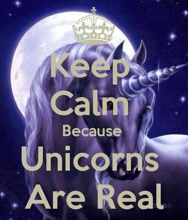 Unicorns are reseal!!!!!❤️❤️