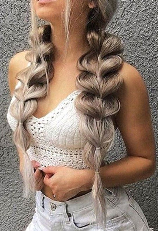 40 Beautiful Unique Braid Long Hairstyles | Braids for ...
