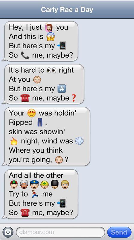 joindarkside » 7 Funny Emoji Conversations! emoji lyrics