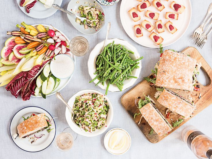 A Provence-inspired picnic menu for summer entertaining