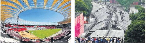 Brazil Prepares For FIFA World Cup 2014 and Summer Olympics 2016
