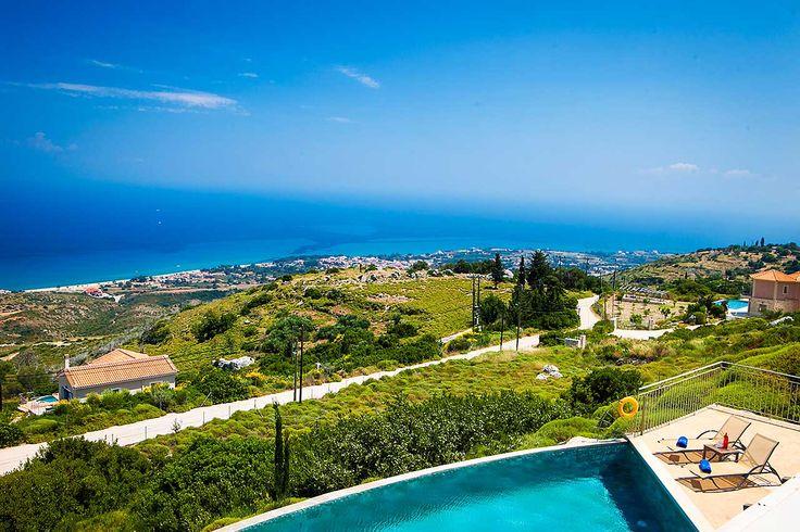 Villa Agriada | Kefalonia Villas | Private Villa With Pool To Rent In Kefalonia Greece
