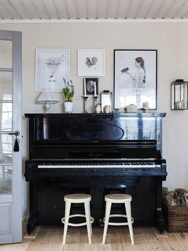 die besten 25 klavier wohnzimmer ideen auf pinterest klavier dekoration klavier raumdekor. Black Bedroom Furniture Sets. Home Design Ideas