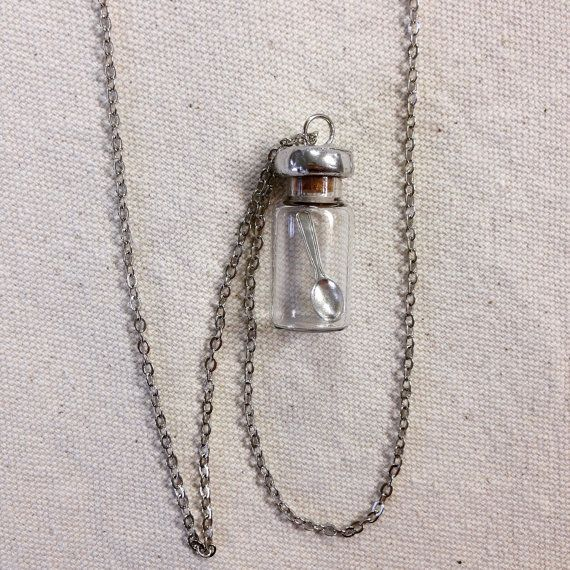 Emergency Spoon in Vial for Spoonies by LilyvaleCottage on Etsy