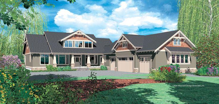 Gable House Plans Multi Generational Home House Design
