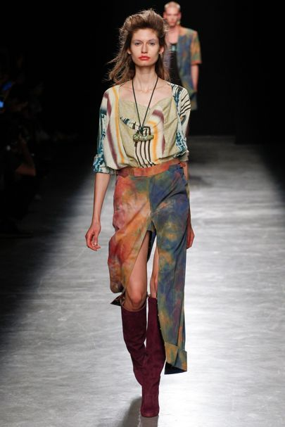Andreas Kronthaler for Vivienne Westwood Spring/Summer 2017 Ready-To-Wear Collection | British Vogue