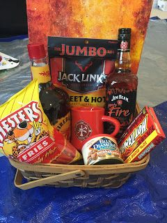 "Cookies and Creations: Preview ""Firefighter Gift Basket"""