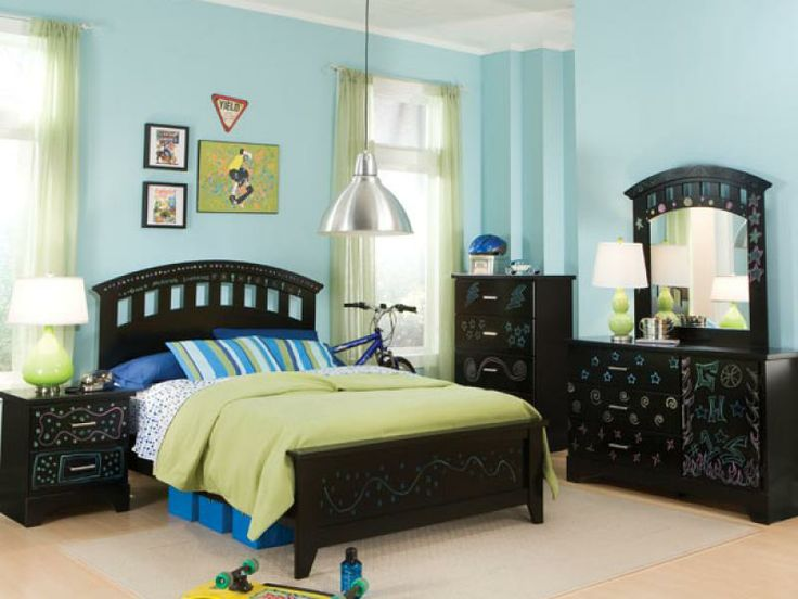 Kids Black Bedroom Furniture 51 best bedrooms images on pinterest | master bedroom, bedroom