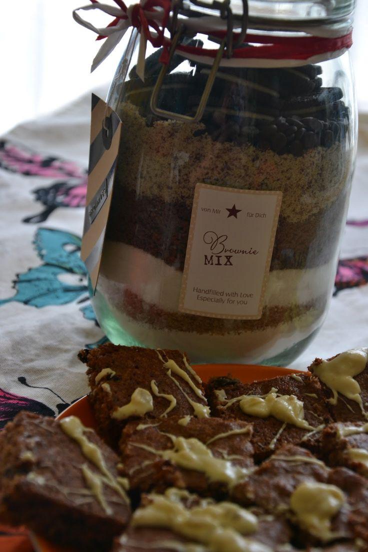 CheRRy's World: Backmischung im Glas - BROWNIE