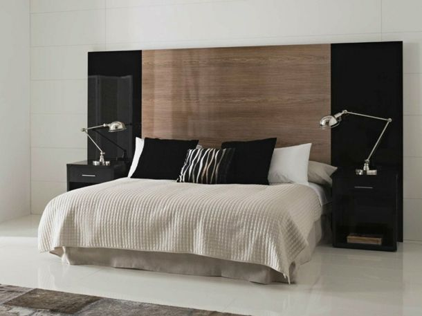 les 25 meilleures id es de la cat gorie t te de lit. Black Bedroom Furniture Sets. Home Design Ideas