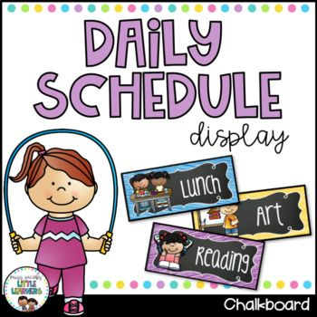 Children in the early years depend heavily on visual aides in the classroom.  This visual timetable includes a set of 69 various daily classroom activities that will assist you in visually displaying an outline for the school day so that your children will be able to keep track of their day. Simply print, laminate and display on your whiteboard/daily calendar. Each task card has a Brights and Chalkboard Background, subject description and a high quality graphic to match. ...