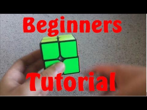 How to solve the 2x2 Rubik's Cube - The Fastest Way! - YouTube