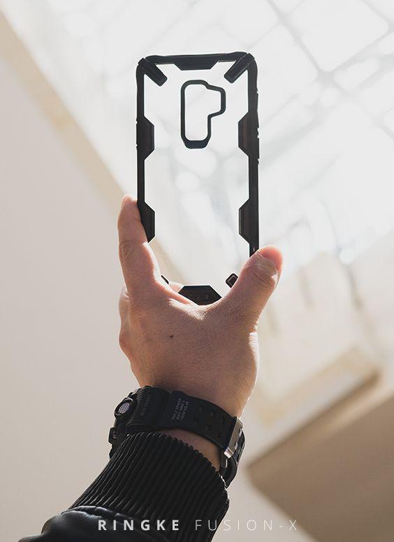 Galaxy S9 PLUS Case, Ringke [FUSION-X] Ergonomic Transparent