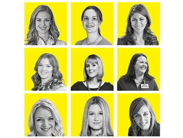 20 young women in power