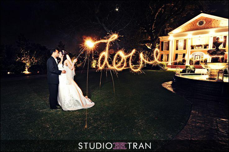 Sparkler Fun - tips - Studio Tran Photographers: Wedding, Bride Wrote, The Bride