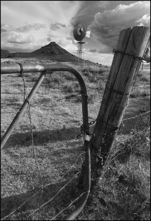 Bethlehem Climax & Locked Gate by Mark Van Der Walle (South African Photographer). S)
