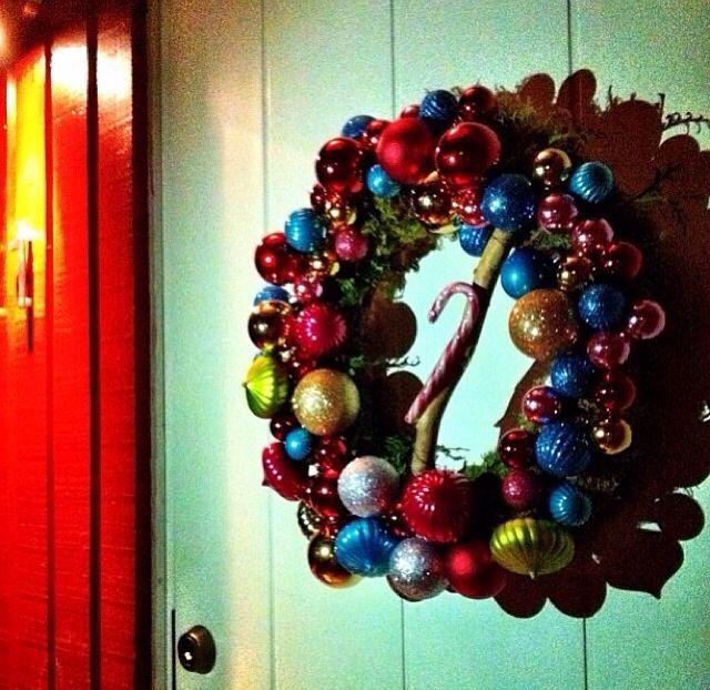 DIY dörrkrans julkrans