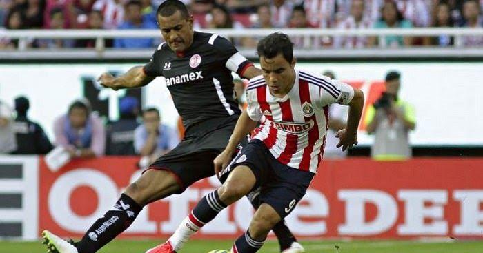 Ver partido Chivas de Guadalajara vs Toluca en vivo -