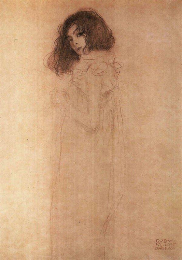 Artist Gustav Klimt Baumgarten, Austria,14 l…