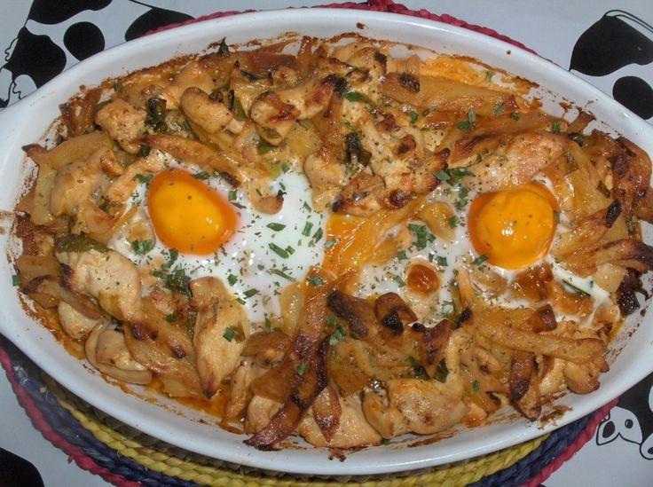 Reteta culinara Curcan de Lisabona (Peru á Lisbonense) din categoriile Retete de Pasti, Fripturi. Cu specific portughez.. Cum sa faci Curcan de Lisabona (Peru á Lisbonense)