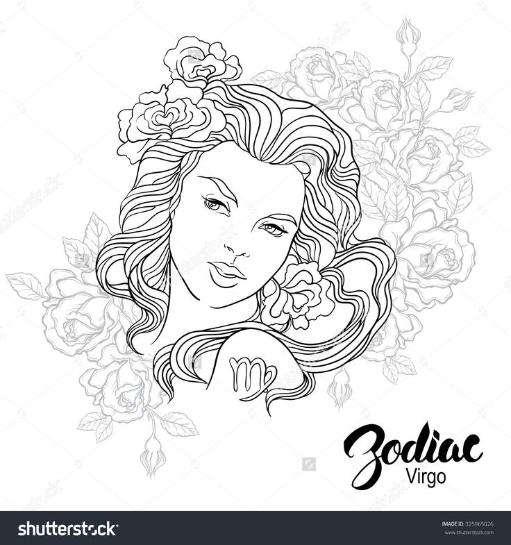 astrological signs coloring pages - photo#38
