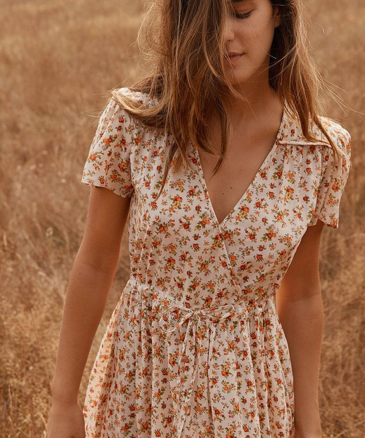 The Dawn Dress | Fall Calico