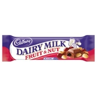 I just opened one of these, blinked, and it disappeared.   Cadbury Fruit and Nut <3