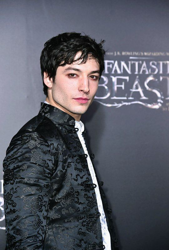 """Ezra Miller attends the """"Fantastic Beasts And Where To Find Them"""" World Premiere at Alice Tully Hall, Lincoln Center on November 10, 2016 in New York City."""