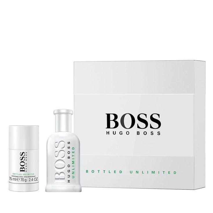 Boss Bottled Unlimited by Hugo Boss Men's Cologne Gift Set, Multicolor