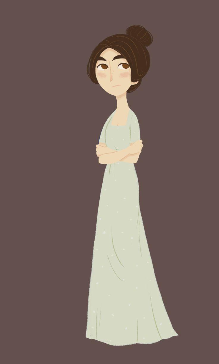 Mary Bennet... in progress. by Ceydran.deviantart.com on @deviantART