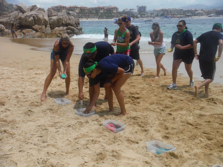 Tackling the FUN FILLED Beach Challenge!!